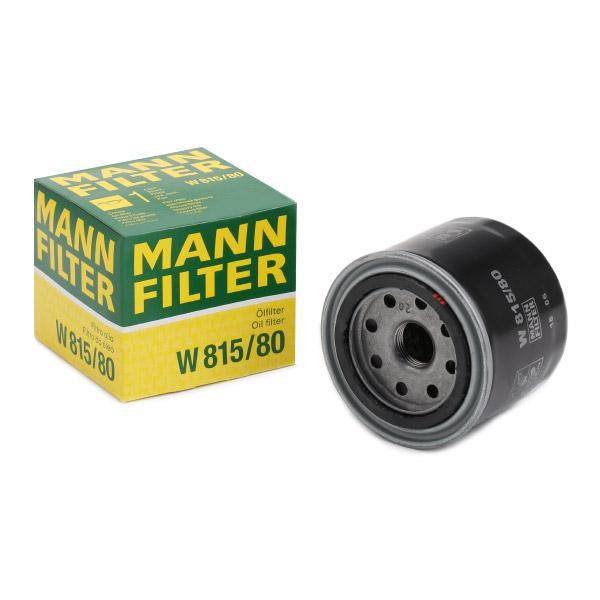Oljefilter MANN-FILTER W 815/80 Recensioner
