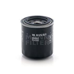 Filtro de óleo W 815/81 HONDA QUINTET com um desconto - compre agora!