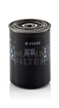 W 816/80 MANN-FILTER Filtr oleju do MITSUBISHI Canter (FE3, FE4) 5.Generation - kup teraz
