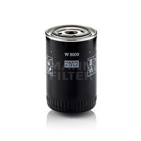 W 9009 MANN-FILTER med en backsperrventil Innerdiameter 2: 63mm, Ø: 93mm, Ytterdiameter 2: 72mm, H: 143mm Oljefilter W 9009 köp lågt pris