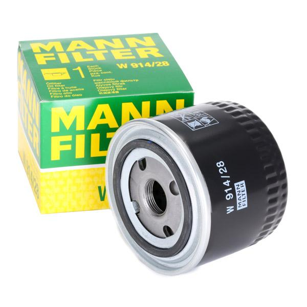 W 914/28 Engine oil filter MANN-FILTER - Cheap brand products