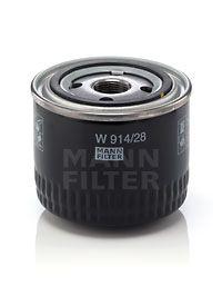 W 914/28 Õlifilter MANN-FILTER — vähendatud hindadega soodsad brändi tooted