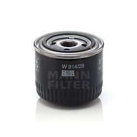 W 914/28 Olajszűrő MANN-FILTER - Olcsó márkás termékek
