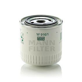 W916/1 Oljefilter MANN-FILTER - Upplev rabatterade priser