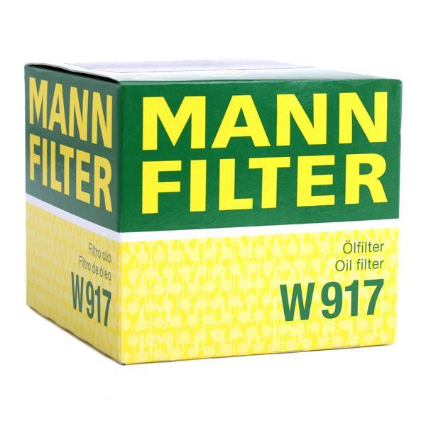 W917 Oliefilter MANN-FILTER - Ervaar aan promoprijzen