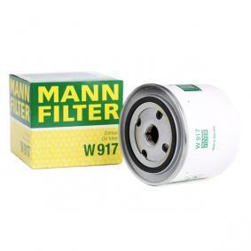 W 917 MANN-FILTER med en backsperrventil Innerdiameter 2: 62mm, Ø: 93mm, Ytterdiameter 2: 71mm, H: 85mm Oljefilter W 917 köp lågt pris
