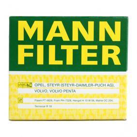 W 917 Oljefilter MANN-FILTER originalkvalite