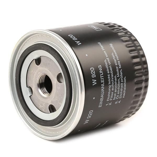 W 920 Filter MANN-FILTER - Markenprodukte billig