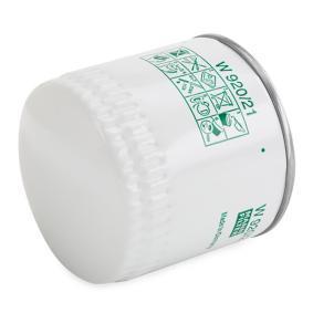 W 920/21 Wechselfilter MANN-FILTER - Markenprodukte billig