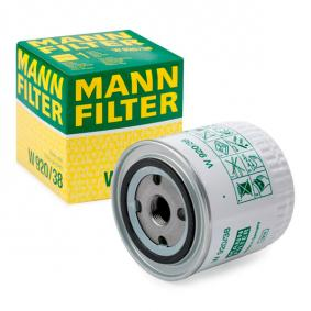 Eļļas filtrs W 920/38 par VOLVO 440 K ar atlaidi — pērc tagad!