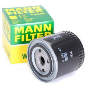 W 920/48 MANN-FILTER mit einem Rücklaufsperrventil Innendurchmesser 2: 62mm, Ø: 93mm, Außendurchmesser 2: 71mm, Höhe: 92mm Ölfilter W 920/48 günstig kaufen