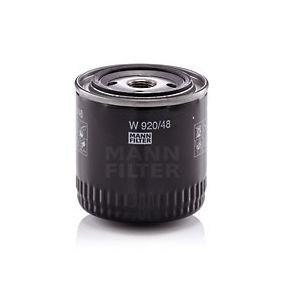 W 920/48 Ölfilter MANN-FILTER - Markenprodukte billig