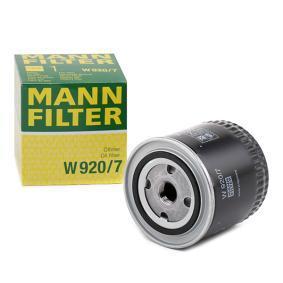 W 920/7 MANN-FILTER Ölfilter, Schaltgetriebe W 920/7 günstig kaufen