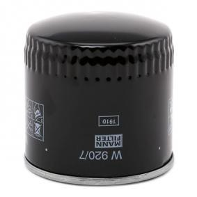 W 920/7 Ölfilter, Schaltgetriebe MANN-FILTER in Original Qualität