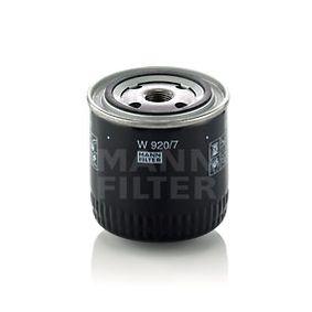 W 920/7 Ölfilter, Schaltgetriebe MANN-FILTER Test