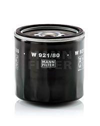 W 921/80 MANN-FILTER Filtr oleju do MITSUBISHI Canter (FE3, FE4) 5.Generation - kup teraz