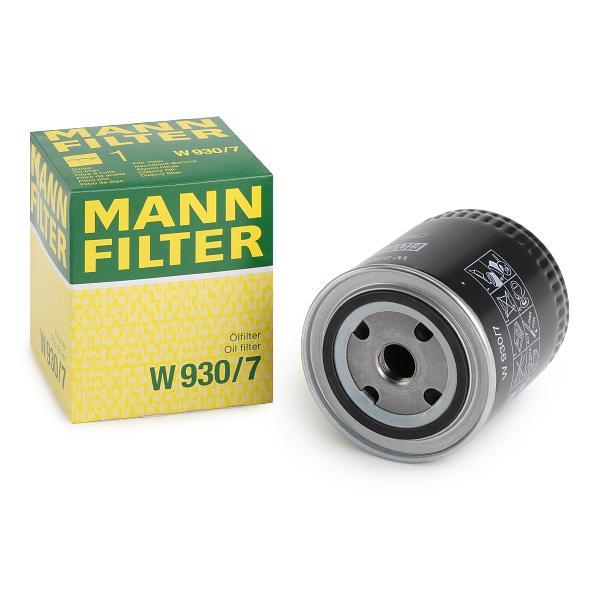MANN-FILTER W 930//7 Ölfilter