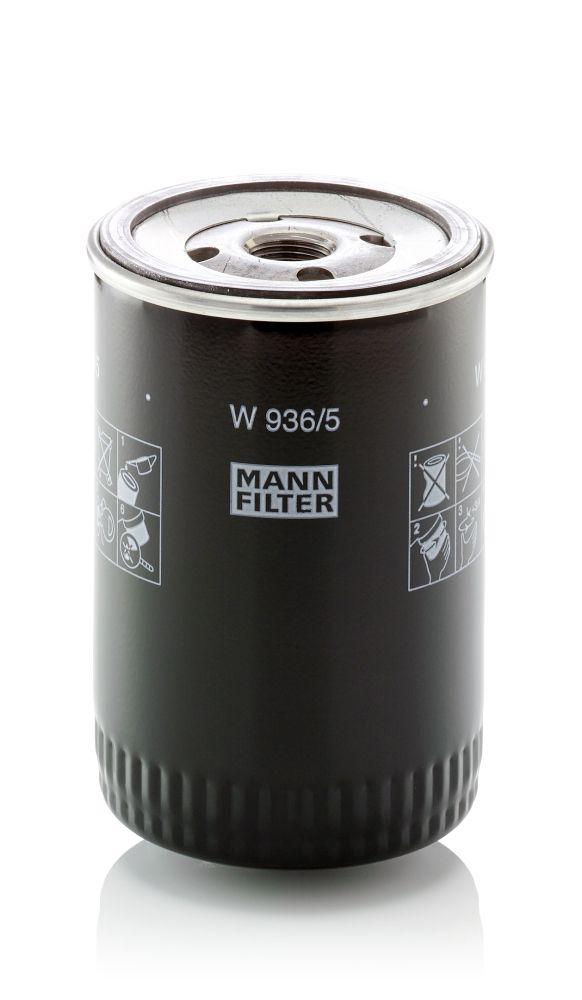 W936/5 Motoroljefilter MANN-FILTER - Upplev rabatterade priser