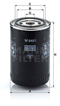 Motorölfilter W 940/1 Günstig mit Garantie kaufen