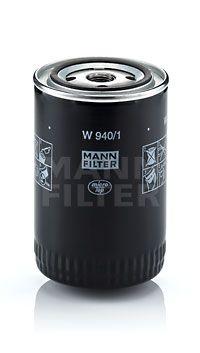 W 940/1 MANN-FILTER Skruvfilter, med en backsperrventil Innerdiameter 2: 62mm, Innerdiameter 2: 62mm, Ø: 93mm, Ytterdiameter 2: 71mm, H: 142mm Oljefilter W 940/1 köp lågt pris