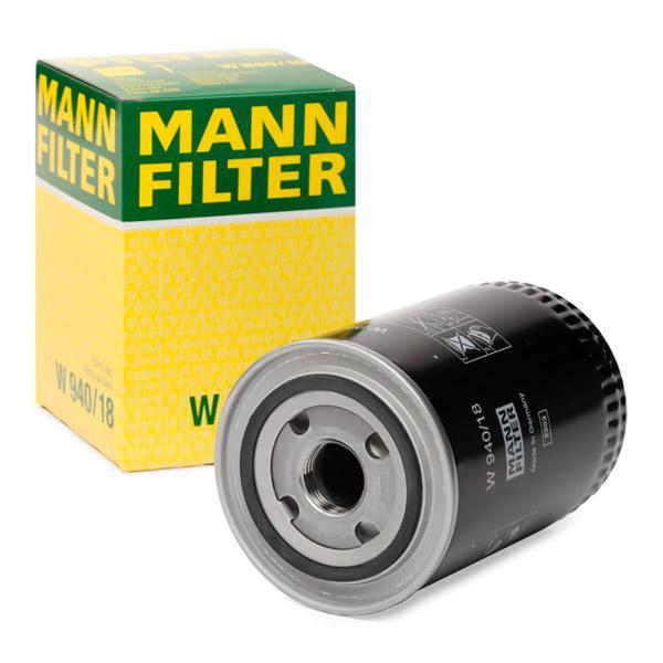 MANN-FILTER | Ölfilter W 940/18