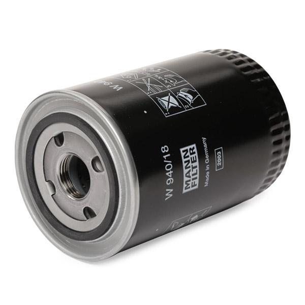 W94018 Motorölfilter MANN-FILTER W 940/18 - Große Auswahl - stark reduziert
