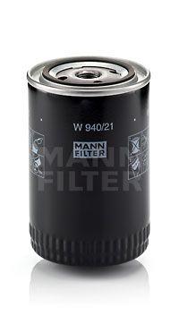 MANN-FILTER: Original Motorölfilter W 940/21 (Innendurchmesser 2: 62mm, Innendurchmesser 2: 62mm, Ø: 93mm, Außendurchmesser 2: 71mm, Höhe: 142mm)