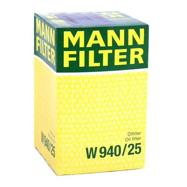 W940/25 Alyvos filtras MANN-FILTER - Sumažintų kainų patirtis