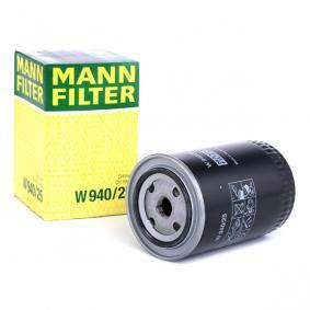 W 940/25 MANN-FILTER mit einem Rücklaufsperrventil Innendurchmesser 2: 62mm, Ø: 93mm, Außendurchmesser 2: 71mm, Höhe: 142mm Ölfilter W 940/25 günstig kaufen