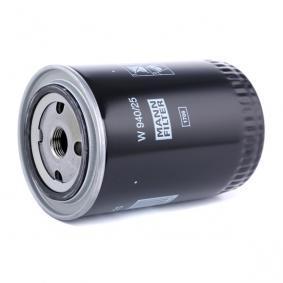 W94025 Ölfilter MANN-FILTER W 940/25 - Große Auswahl - stark reduziert