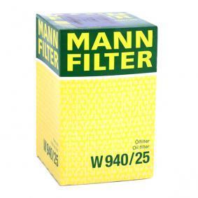 W940/25 Ölfilter MANN-FILTER Erfahrung