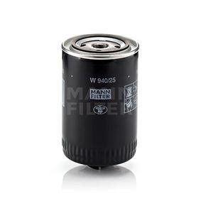 W 940/25 Ölfilter MANN-FILTER Test