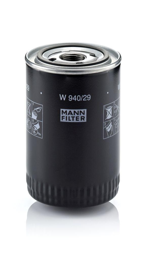 W 940/29 Motorölfilter MANN-FILTER in Original Qualität