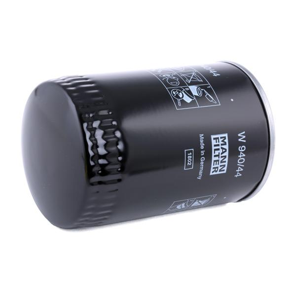 W 940/44 Alyvos filtras MANN-FILTER - Pigus kokybiški produktai