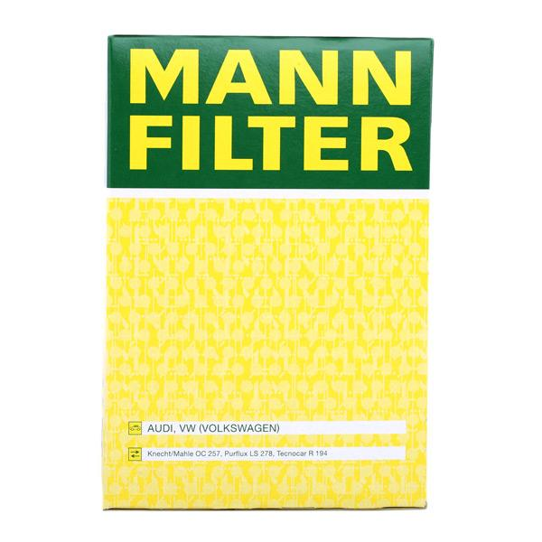 W 940/44 Alyvos filtras MANN-FILTER originalios kokybiškos