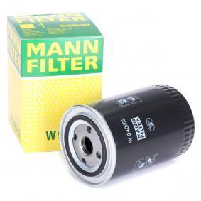W 940/62 MANN-FILTER med en backsperrventil Innerdiameter 2: 62mm, Ø: 93mm, Ytterdiameter 2: 71mm, H: 142mm Oljefilter W 940/62 köp lågt pris