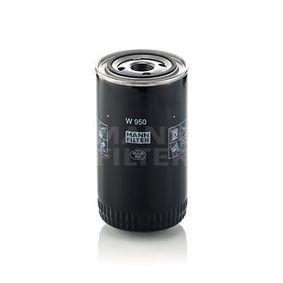 MANN-FILTER Filtro olio W 950 acquisti con uno sconto del 31%