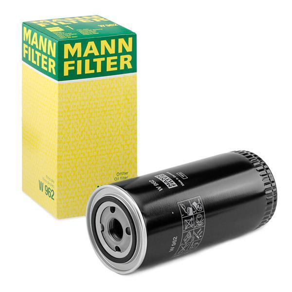 W962 Filtro olio motore MANN-FILTER W 962 - Prezzo ridotto