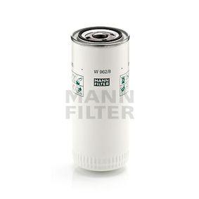 MANN-FILTER Filtro olio W 962/8 acquisti con uno sconto del 25%