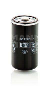 LKW Hydraulikfilter, Automatikgetriebe MANN-FILTER WD 724/5 kaufen
