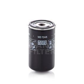 MANN-FILTER Hydraulikfilter, automatväxel WD 724/6 - köp med 28% rabatt