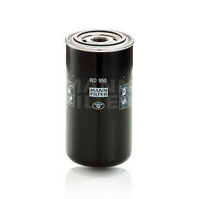 Comprare WD 950 MANN-FILTER Filtro, Sistema idraulico di lavoro WD 950 poco costoso