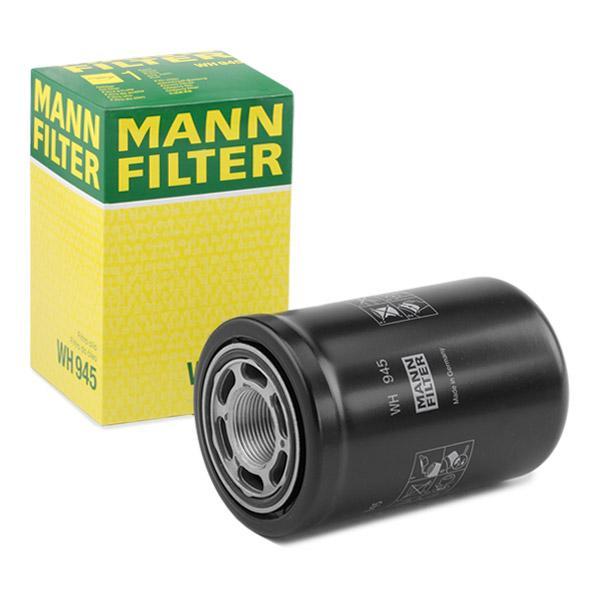 WH945 Filtro idraulico, Cambio automatico MANN-FILTER WH 945 - Prezzo ridotto