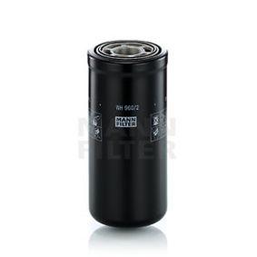 MANN-FILTER Filtro, Sistema idraulico di lavoro WH 960/2 acquisti con uno sconto del 34%