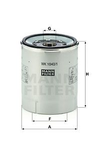 WK 1040/1 x MANN-FILTER Filtre à carburant pour VOLVO FL III - à acheter dès maintenant