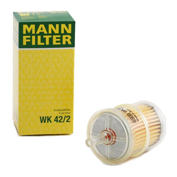 WK 42/2 MANN-FILTER Pijpfilter Hoogte: 108mm Brandstoffilter WK 42/2 koop goedkoop