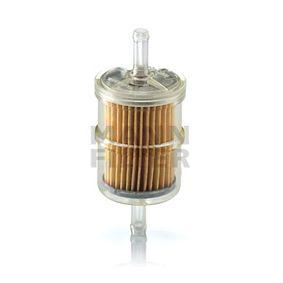 WK 42/2 Kraftstofffilter MANN-FILTER in Original Qualität