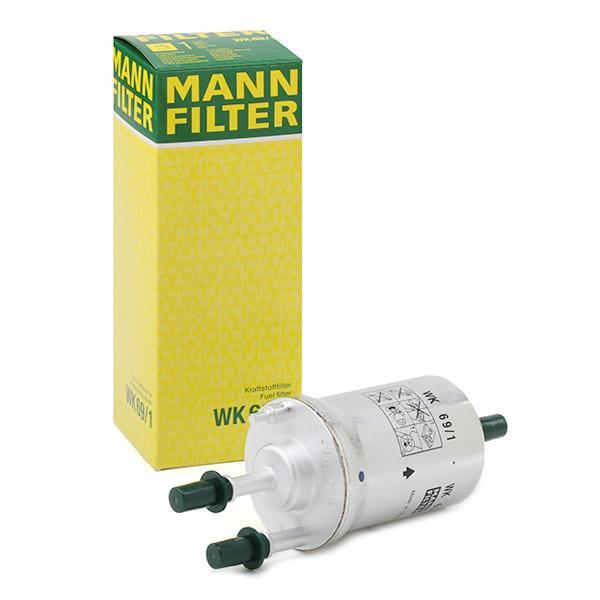WK691 Palivovy filtr MANN-FILTER WK 69/1 - Obrovský výběr — ještě větší slevy