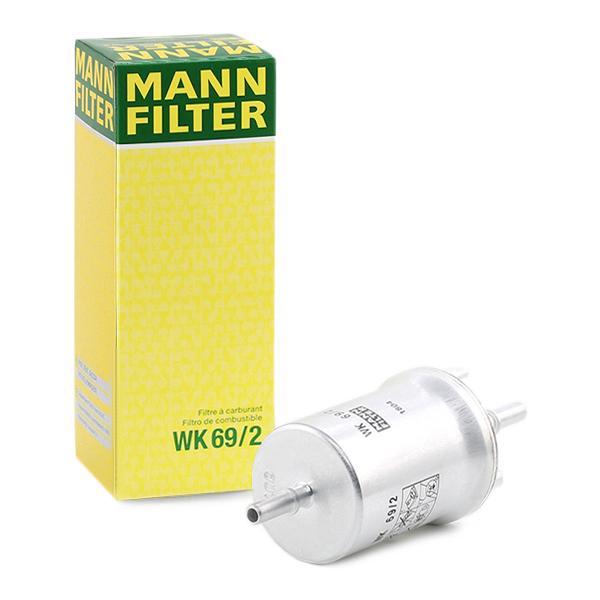 Palivový filtr WK 69/2 s vynikajícím poměrem mezi cenou a MANN-FILTER kvalitou