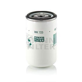 WK723 Bränslefilter MANN-FILTER - Upplev rabatterade priser